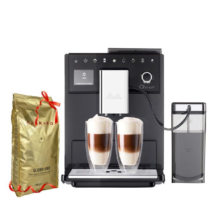Automatic coffee machine CI Touch + Coffee Bean Package